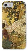 The Garden Of Paradise IIi IPhone Case by Edmund Dulac