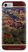 The Grand Canyon IPhone Case by Tom Prendergast
