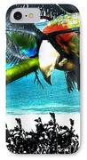 The Great Bird Of Casablanca IPhone Case by Seth Weaver