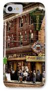 The Green Tortoise Hostel In Seattle IPhone Case by David Patterson