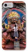 The Hindu God Shiva IPhone Case