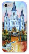 The Hours On Jackson Square IPhone Case