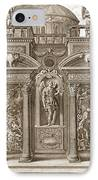The House Of Sleep, 1731 IPhone Case by Bernard Picart