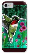 The Hummingbird IPhone Case by Genevieve Esson