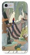 The Idle Beauty IPhone Case by Georges Barbier