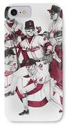 The Indians' Glory Years-late 90's IPhone Case