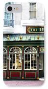 The Irish Pub - Philadelphia IPhone Case by Bill Cannon