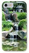 The Japanese Garden IPhone Case by Bill Cannon