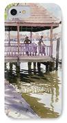 The Jetty Cochin IPhone Case by Lucy Willis