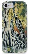 The Kirifuri Waterfall IPhone Case by Hokusai