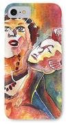 The Ladies Of Loket In The Czech Republic IPhone Case by Miki De Goodaboom
