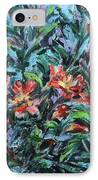 The Late Bloomers IPhone Case by Xueling Zou