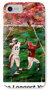 The Longest Yard Named  IPhone Case by Mark Moore