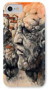 The Lost City - The Sentinel IPhone Case by Emerico Imre Toth