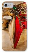 The Mask On The Floor IPhone Case