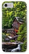 The Mill Paint 2 IPhone Case by Steve Harrington