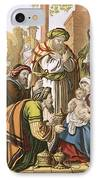 The Nativity IPhone Case by English School