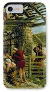 The Nativity IPhone Case by William Bell Scott
