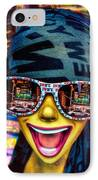 The New York City Tourist IPhone Case by Chris Lord