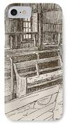 The Old Birmingham Meeting House, 1893 IPhone Case by Walter Price