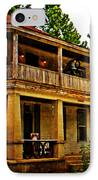 The Old Boarding House IPhone Case by Marty Koch