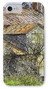 The Old Cotton Barn IPhone Case by Barry Jones