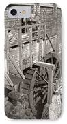 The Old Saw Mill IPhone Case by Edward Fielding