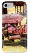 The Old Tractor IPhone Case by Michael Pickett