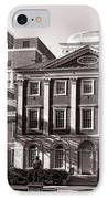 The Pennsylvania Hospital IPhone Case by Olivier Le Queinec
