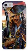 The Pirate IPhone Case by Adrian Chesterman