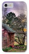 The Play House At Sunset Near Lake Oconee. IPhone Case by Reid Callaway