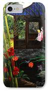 The Pond Garden IPhone Case by D L Gerring