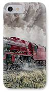 The Princess Elizabeth Storms North In All Weathers IPhone Case by David Nolan