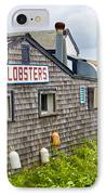 The Quintessential Lobster Experience IPhone Case by Michelle Wiarda