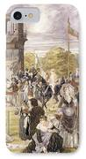 The Races At Longchamp In 1874 IPhone Case