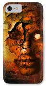 The Resurrection Of Doom IPhone Case by Franziskus Pfleghart