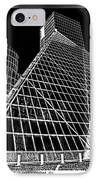 The Rock Hall Cleveland IPhone Case by Kenneth Krolikowski