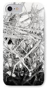 The Roots In Black And White IPhone Case by Lisa Russo