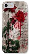 The Rose Of Sharon IPhone Case by Gary Bodnar