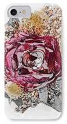 The Rose IPhone Case by Susan Leggett