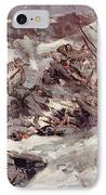 The Russians Fighting Their Way Over The Carpathians IPhone Case