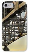 The Sagamore Bridge IPhone Case by Luke Moore