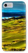 The Scenic Chambers Bay Golf Course - Location Of The 2015 U.s. Open Tournament IPhone Case by David Patterson