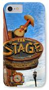 The Stage On Broadway IPhone Case by Dan Sproul