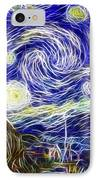 The Starry Night Reimagined IPhone Case