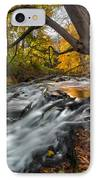 The Still River Square IPhone Case by Bill Wakeley