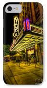 The Tampa Theater IPhone Case