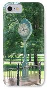 The Town's Clock IPhone Case