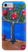 The Tree Of Life IPhone Case by Sandra Marie Adams
