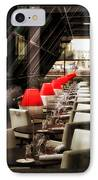 The Waiter IPhone Case by Kent Mathiesen